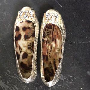 Sam Edelman Gold Shoes